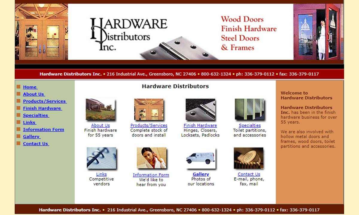 Hardware Distributors Inc.