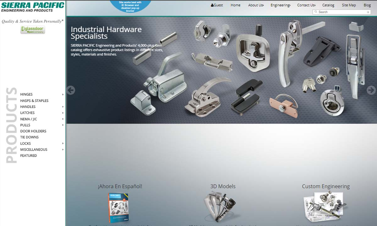 Sierra Pacific Engineering & Products (SPEP)