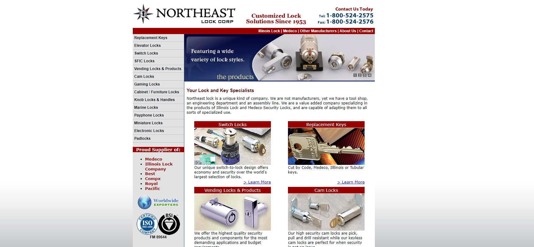 Northeast Lock Corp.