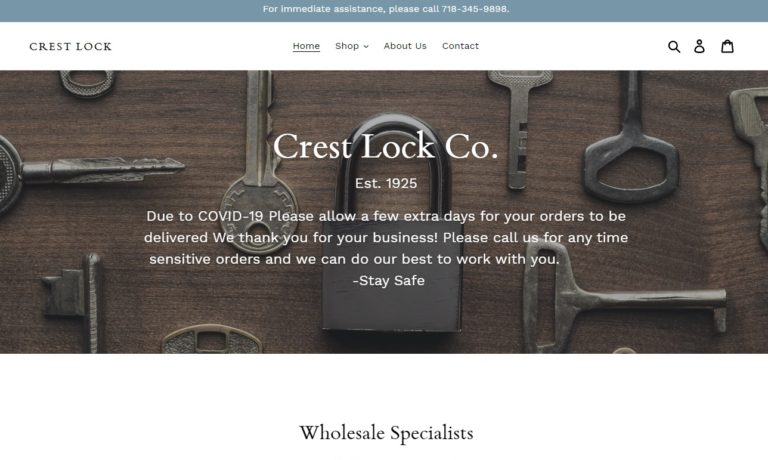 Crest Lock Co., Inc.